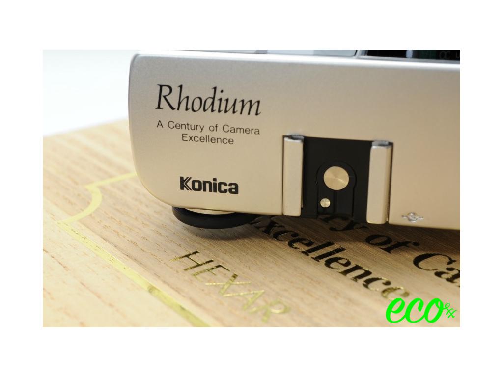 コニカ Konica HEXAR Rhodium 35mm F2 ヘキサー ロジウム 【当時先着1000名様限定発売】