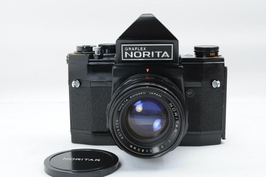 ノリタ GRAFLEX NORITA 66 NORITAR 80mm F2レンズセット グラフレックス銘モデル ノリタ光学